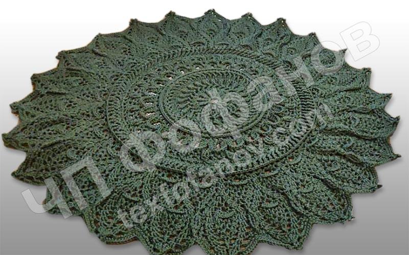 шнур 4 5 мм для вязания ковров полиэфирный украина