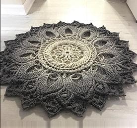 Шнур для в'язання килимів