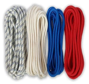 Cords for industrial mountaineering